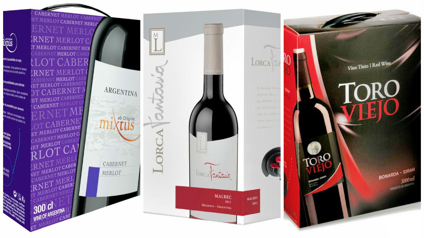 Resultado de imagen para vinos bag in box argentinos