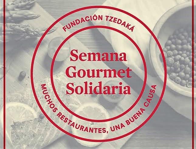 Invitación Semana Gourmet Solidaria